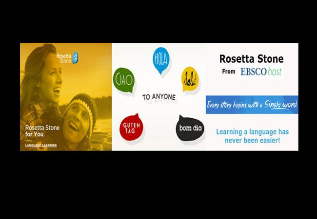 Learn a Language with Rosetta Stone Library Solutions