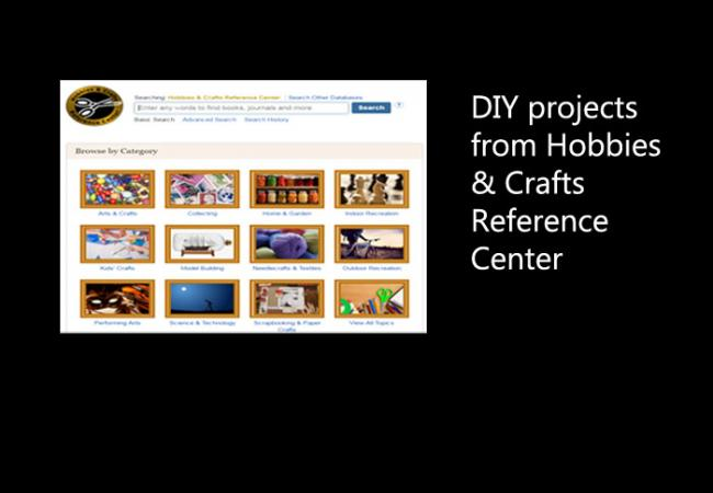 DIY projects from Hobbies and Craft Reference Center